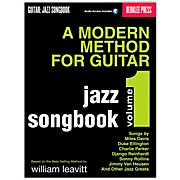 Berklee Press Modern Method for Guitar Songbook: Jazz (Book/CD)