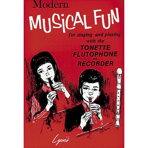 Lyons Modern Musical Fun Book