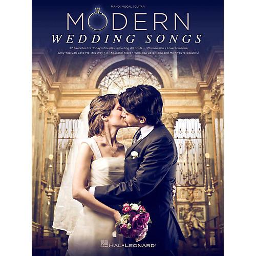 Hal Leonard Modern Wedding Songs - 27 Favorites For Today's Couples-thumbnail