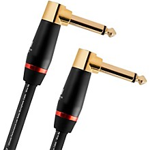 """Monster Cable Monster Bass 1/4"""" Dual Angled Instrument Cable"""