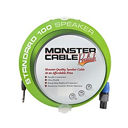 "Monster Cable Standard 100 Speaker Cable with SpeakOn Connectors - 1/4"" Speaker Cables (607251)"