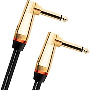 Monster Cable Monster Rock 1/4 Inch Dual Angled Instrument Cable