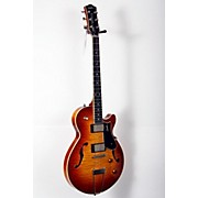 Godin Montreal Premiere Flame Top Deluxe Hollowbody Guitar