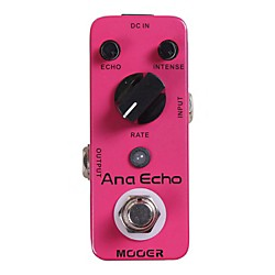 Mooer Ana Echo Analog Delay Guitar Effects Pedal (Ana Echo)