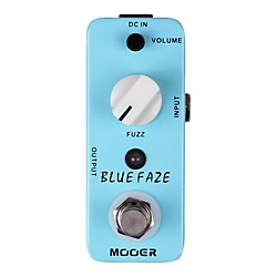 Mooer Blue Faze Vintage Fuzz Guitar Effects  Pedal (Blue Faze)