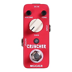 Mooer Cruncher High Gain Distortion Guitar Effects Pedal (Cruncher)