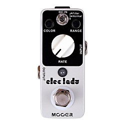Mooer Eleclady Classic Analog Flanger Guitar Effects Pedal (Eleclady)