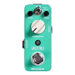 Mooer Green Mile Overdrive Guitar Effects Pedal (Green Mile)