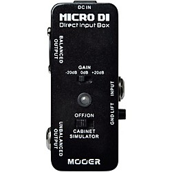 Mooer Micro DI Box Guitar Effects Pedal (Micro DI)