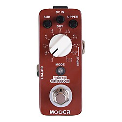 Mooer Pure Octave Guitar Effects Pedal (Pure Octave)