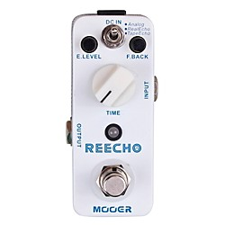 Mooer Reecho Digital Delay Guitar Effects Pedal (Reecho)
