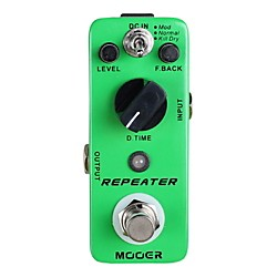 Mooer Repeater Digital Delay Guitar Effects Pedal (Repeater)