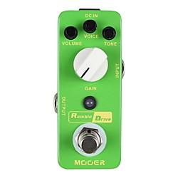 Mooer Rumble Drive Overdrive Guitar Effects Pedal (Rumble Drive)