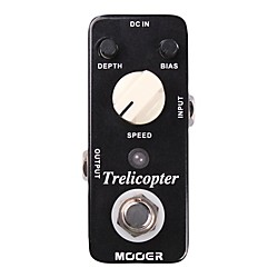 Mooer Trelicopter Tremolo Guitar Effects Pedal (Trelicopter)