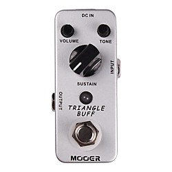 Mooer Triangle Buff Fuzz Guitar Effects Pedal (Triangle Buff)