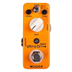 Mooer Ultra Drive MKII Micro Distortion Guitar Effects Pedal (Ultra Drive MKII)