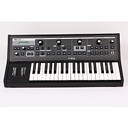 Moog Little Phatty Stage II Keyboard Synthesizer with Blue LEDs (USED005029 LPT-006)
