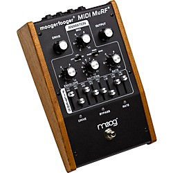 Moog MF-105M Moogerfooger MIDI MuRF Analog Filter Guitar Effects Pedal (MF-105M)