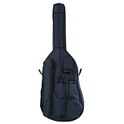 Mooradian Deluxe 1/2 Double Bass Bag (DBD12BLU)