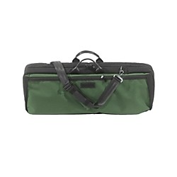 Mooradian Oblong Violin Case Slip-On Cover with Combination Straps (VNOGRNCOM)