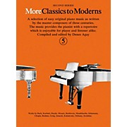 Music Sales More Classics To Moderns - Second Series Book 5