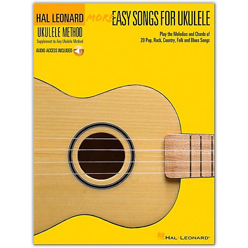 Hal Leonard More Easy Songs For Ukulele Book/Online Media-thumbnail