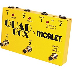 Morley Quad Box Guitar and Amp Switcher (QUAD)
