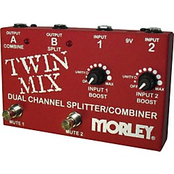 Morley Twin Mix ABY Switcher Splitter Combiner (TWIN MIX)