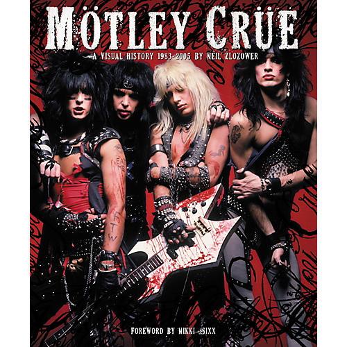 Chronicle Books Motley Crue: A Visual History: 1983-2005 by Neil Zlozower (Book)-thumbnail