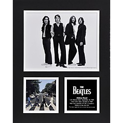 "Mounted Memories Beatles ""Abbey Road"" 11x14 matted photo (UMCEBEA780)"