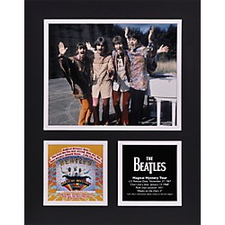"Mounted Memories Beatles ""Magical Mystery Tour"" 11x14 matted photo (UMCEBEA765)"