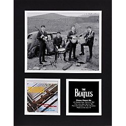 "Mounted Memories Beatles ""Please Please Me"" 11x14 matted photo (UMCEBEA725)"
