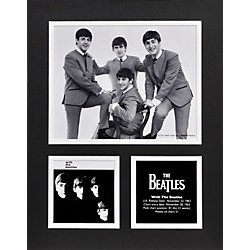 "Mounted Memories Beatles ""With The Beatles"" 11x14 matted photo (UMCEBEA730)"
