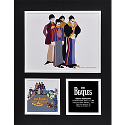 "Mounted Memories Beatles ""Yellow Submarine"" 11x14 matted photo (UMCEBEA775)"
