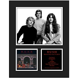 Mounted Memories Rush Moving Pictures 11x14 Matted Photo (UMCERUS295)