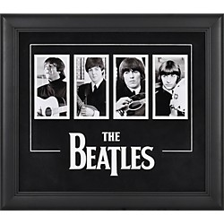 Mounted Memories The Beatles 4-Photograph Framed Presentation (FRCEBEA715)