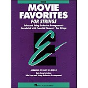 Hal Leonard Movie Favorites Violin Essential Elements