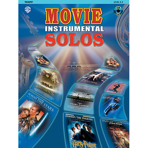 Alfred Movie Instrumental Solos for Trumpet Book/CD-thumbnail