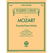 G. Schirmer Mozart  Favorite Piano Works Schirmer's Library of Musical Classics Vol. 2101