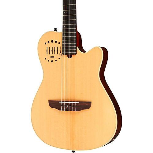Godin Multiac Nylon Duet Ambiance Acoustic-Electric Guitar Natural