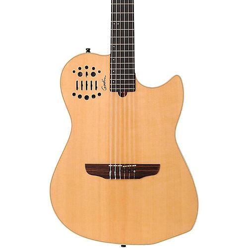 Godin Multiac Nylon String SA Electric Guitar High Gloss Natural