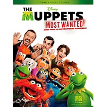 Hal Leonard Muppets Most Wanted - Music From The Motion Picture Soundtrack for Piano/Vocal/Guitar