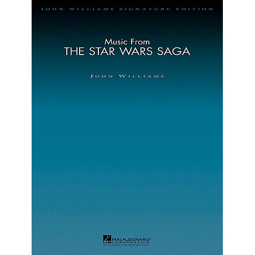 Hal Leonard Music From The Star Wars Saga - John Williams Signature Edition Orchestra Score and Parts-thumbnail
