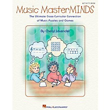 Hal Leonard Music Masterminds - Ultimate Collection of Puzzles and Games Book