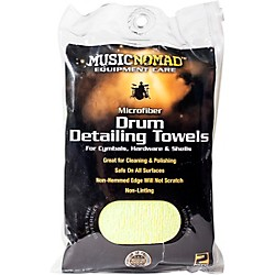 Music Nomad Edgeless Microfiber Drum Detailing Towels - 2 pack (MN210)