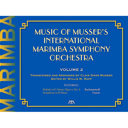 Meredith Music Music Of Musser'S International Marimba Symphony Orchestra Vol. 2-thumbnail