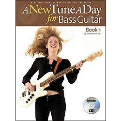 Music Sales A New Tune A Day Bass Guitar Book 1 with CD (14022735)