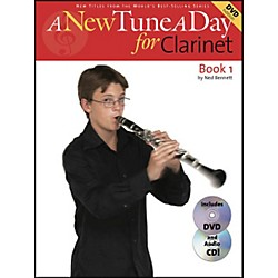 Music Sales A New Tune A Day For Clarinet Book 1 With DVD And CD (14022738)