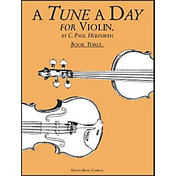 Music Sales A Tune A Day For Violin Book 3 (14034237)