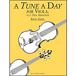 Music Sales A Tune A Day Viola Book 3 (14034234)